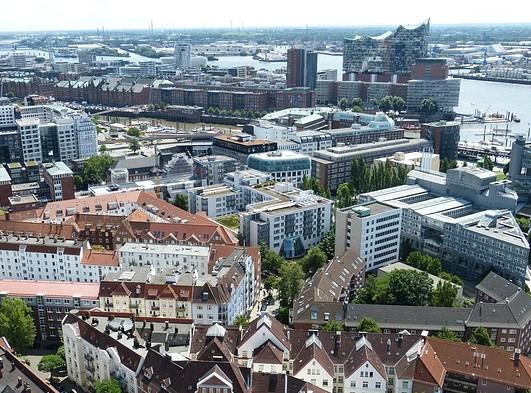 ドイツ: ハンブルクの地区・治安