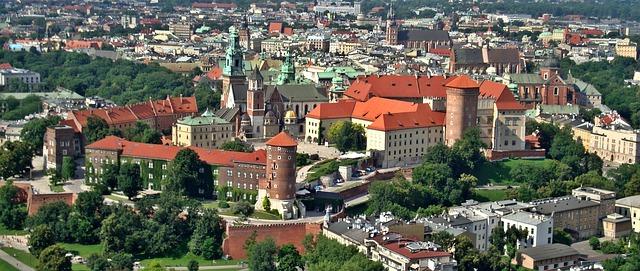 ポーランド都市:クラクフはこん...